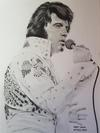 Elvis Presley Drawing No 14