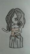 Manga vampire girl