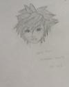 Drawing kingdom hearts