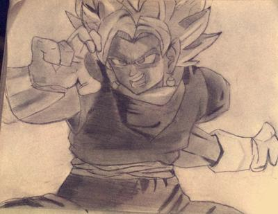 Vegito Drawing