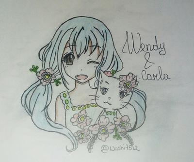 Wendy Marvel & Carla Drawing (@Nashi7512)