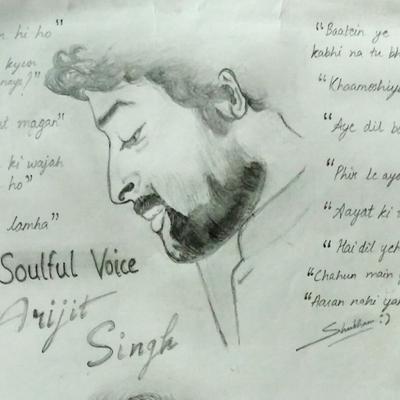 Arijit Singh by Shubham Saxena