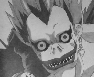 Death Note: Ryuk Pencil Drawing