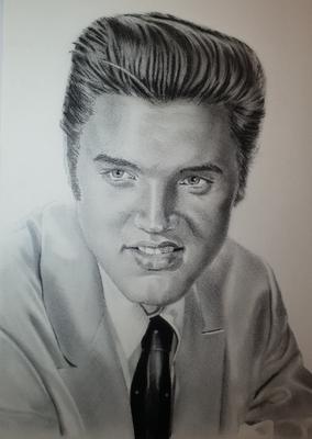 Elvis Drawing No 13
