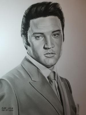 Elvis Drawing No18