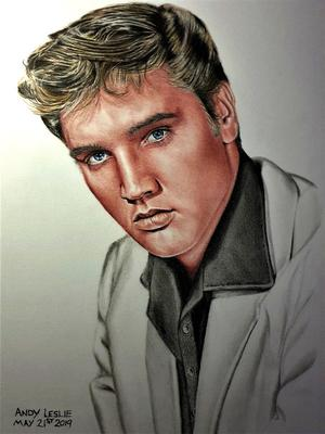 Elvis Drawing No25 Angel