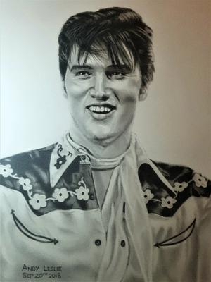 Elvis Presley drawing no16