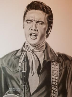 Elvis Presley Drawing No19