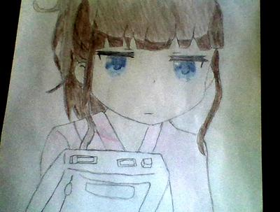 First anime drawing