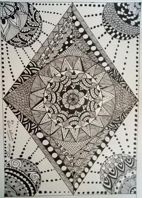 Full page Mandala