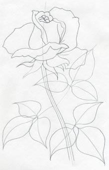 Draw a rose quickly simply and easily click the image to enlarge mightylinksfo