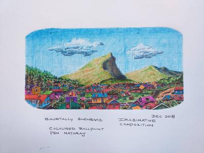 IMAGINARY ART WITH BALLPOINT PENS2