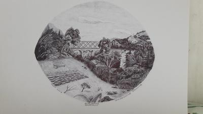 IMAGINARY DRAWING WITH BALLPOINT PEN