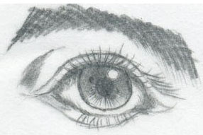 I Put This Picture First So That You Can Compare The Differences Between Manga Eyes Below And Simple Human Eye Drawing