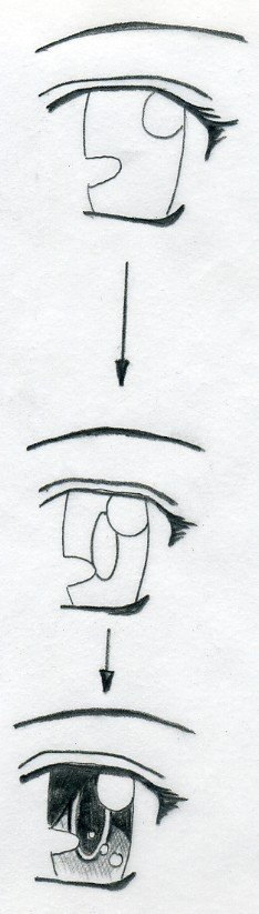 how to draw easy eyes realistically