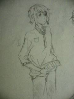 manga figure sketch