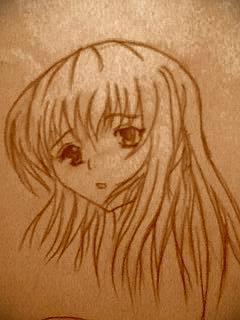 manga face sketch