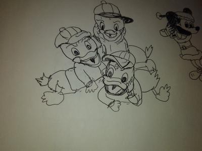 My first Donald Ducks