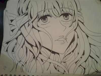 My first full ink drawing