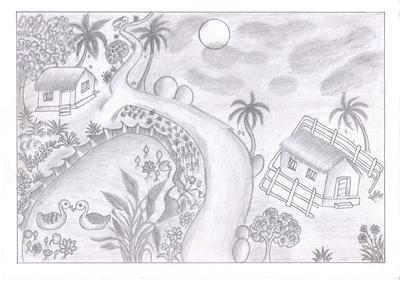 My first landscape