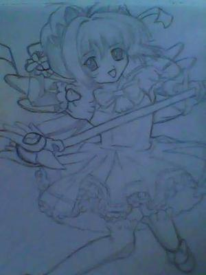 sakura drawing