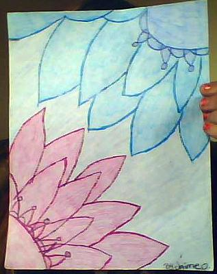 My pretty flower drawing