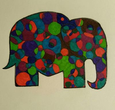 Spotted Elephant
