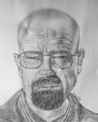 Walter White Drawing
