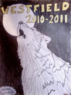 Yearbook Cover Contest Drawing Anime Angel And Demon Drawing